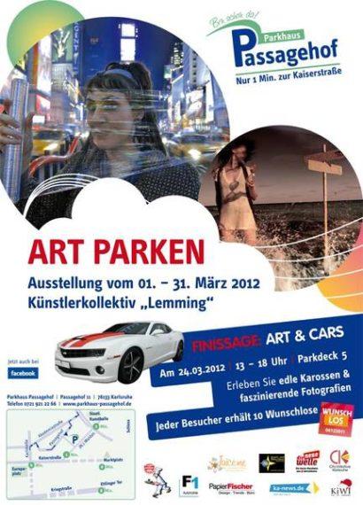 Art Parken – Ausstellung Parkhaus Passagehof
