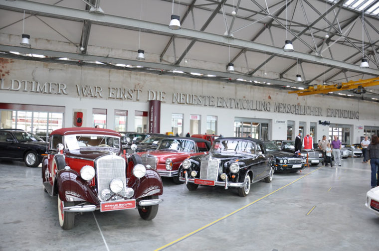 15 Jahre F1 / Sportwagenausfahrt 2011 Meilenwerk / Böblingen