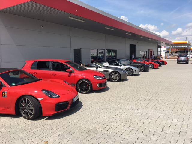 F1 Automobile Sportwagenausfahrt mit Sommerfest 2017