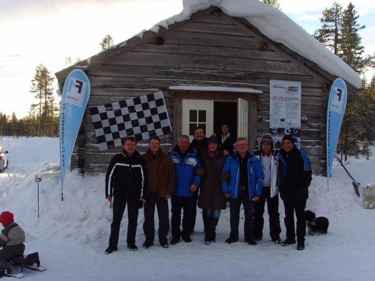 F1 Snowmobil und Fahrsicherheits-Event 2011